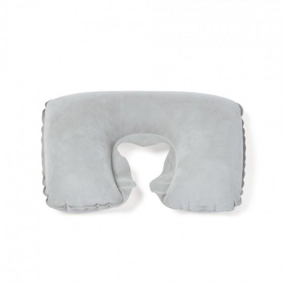 Almofada de pescoço inflável em PVC