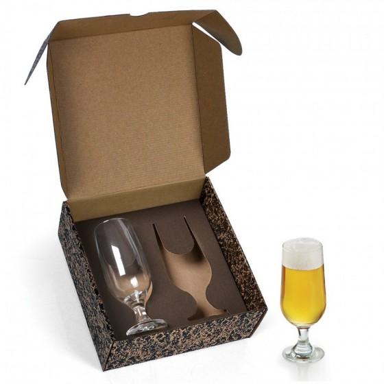 Jogo de copos vidro p/ Cerveja/ Drink