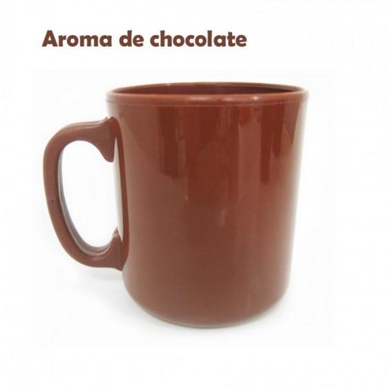 Caneca com aroma de Chocolate