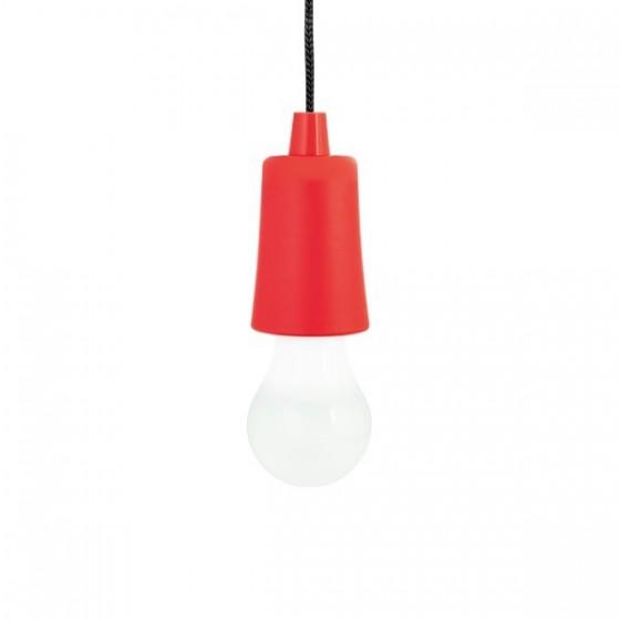 Lâmpada portátil. ABS e PP. Com LED - 94750.05