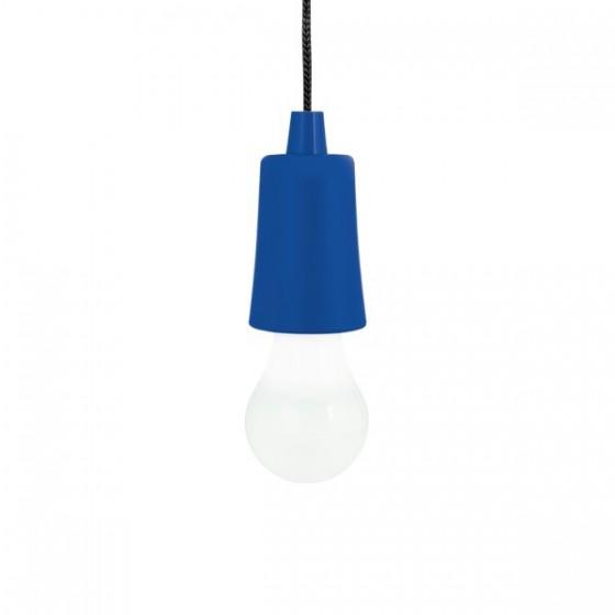 Lâmpada portátil. ABS e PP. Com LED - 94750.14