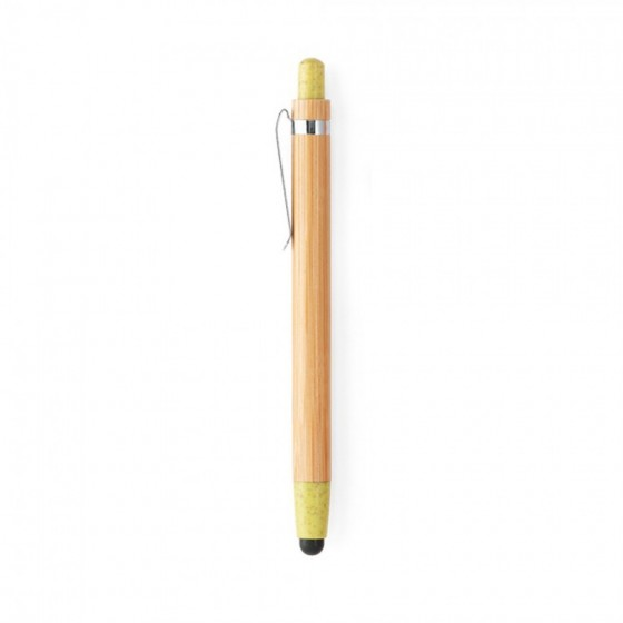 Caneta esferográfica em Bambu com 1