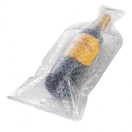 Protetor para garrafa em PVC e plástico bolha - 34701-110