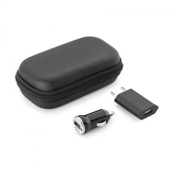 Kit de carregadores USB. ABS - 57326.03