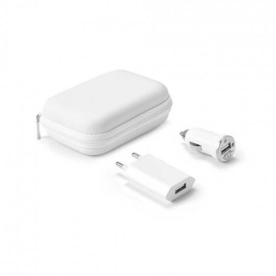 Kit de carregadores USB. ABS - 57326.06