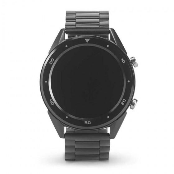 Relógio inteligente com bracelete em aço inox - 57431-103