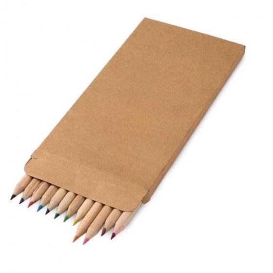 Caixa de cartão com 12 lápis - 91746.60