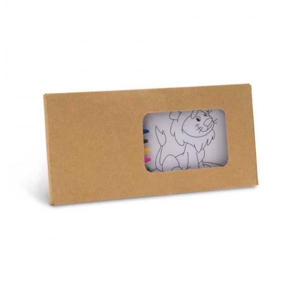 Kit para pintar em caixa de cartão - 91755.60