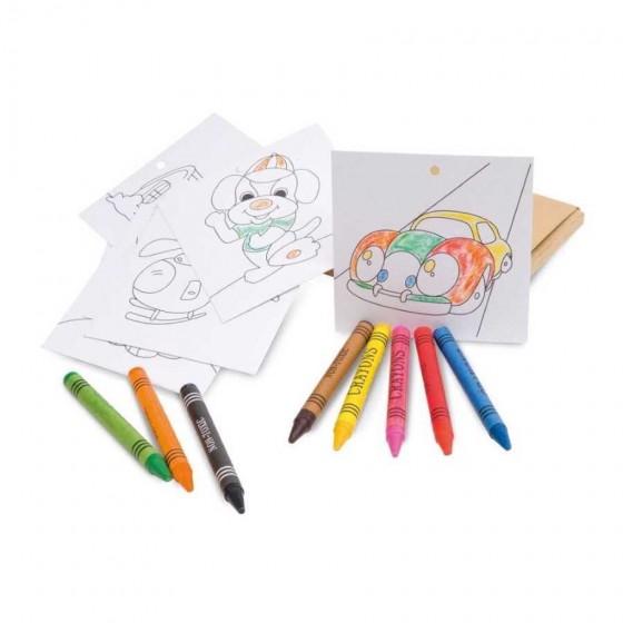 Kit para pintar em caixa de cartão - 91755-150