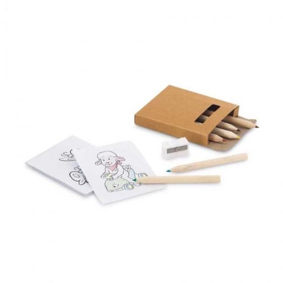 Kit para pintar em caixa de cartão - 91758.60