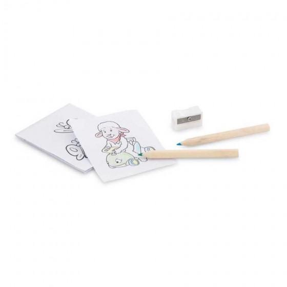 Kit para pintar em caixa de cartão - 91758-150
