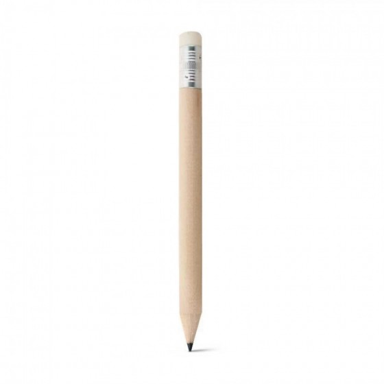 Mini lápis. Com borracha. Unidade: 1 dúzia de lápis - 91759.60