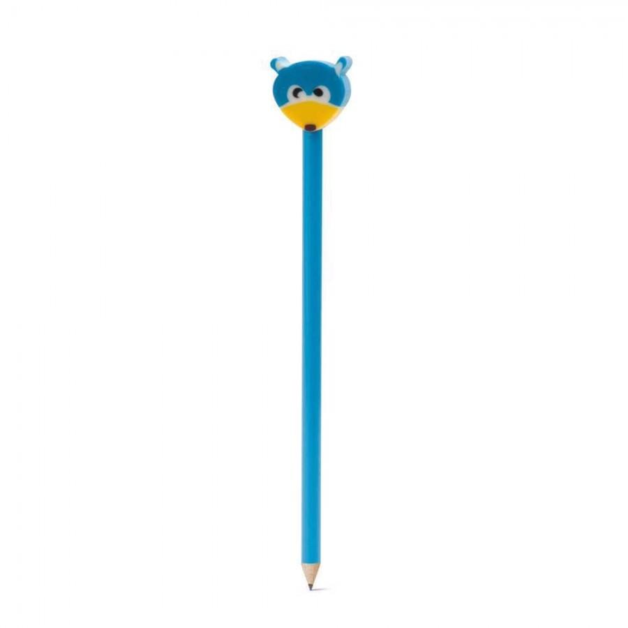 Lápis. Grau de dureza: HB. Com boneco - 91904.04