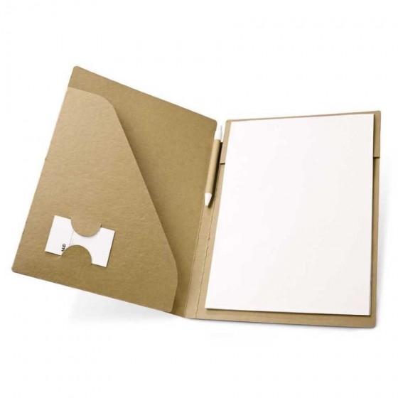 Pasta A4. Cartão: 450 g/m². Bloco: 20 folhas - 92046-150