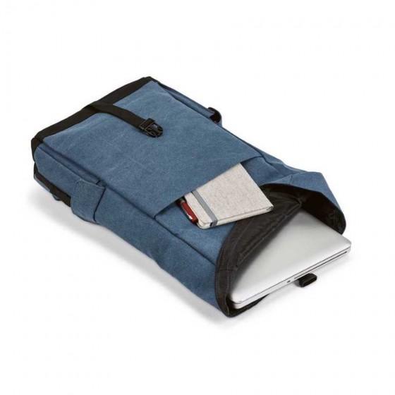 Mochila para notebook em Algodão canvas pré-lavado - 92175-104