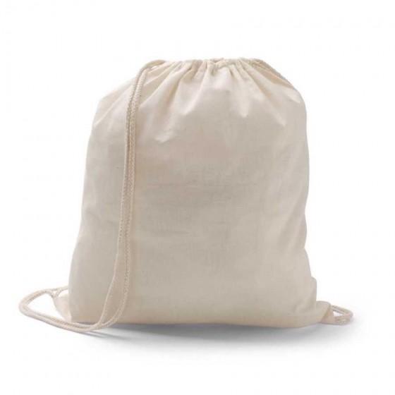 Sacola tipo mochila. 100% algodão - 92456-150