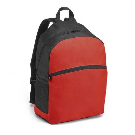 Mochila em nylon 600D com Bolso exterior e bolsos laterais - 92666-105