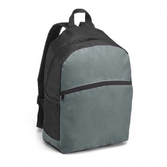 Mochila em nylon 600D com Bolso exterior e bolsos laterais - 92666-113