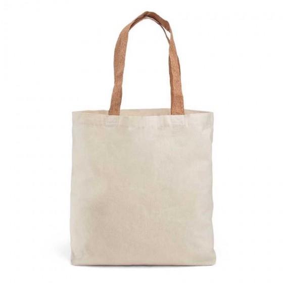 Sacola 100% algodão: 180 g/m². Alças em cortiça - 92869-160