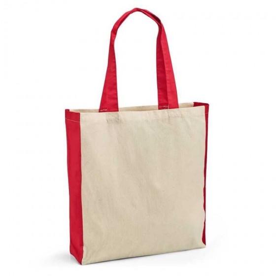Sacola 100% algodão: 140 g/m². Alças de 65 cm - 92879-105