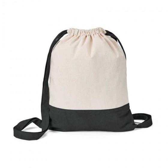 Sacola tipo Mochila 100% algodão canvas: 180 g/m² - 92913-103