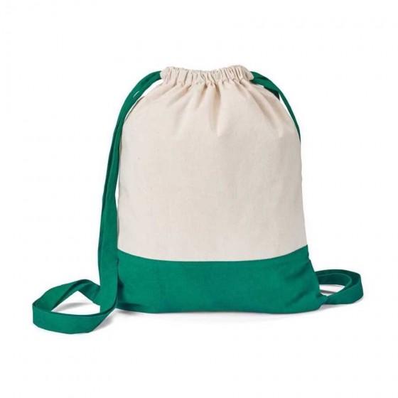 Sacola tipo Mochila 100% algodão canvas: 180 g/m² - 92913-109