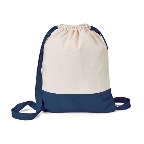 Sacola tipo Mochila 100% algodão canvas: 180 g/m² - 92913-134