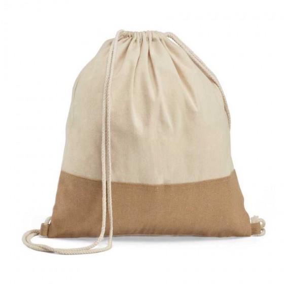 Sacola tipo Mochila 100% algodão: 160 g/m² - 92919-160