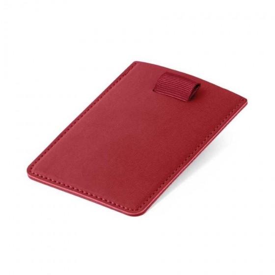 Porta cartões em PU com Tecnologia de bloqueio RFID - 93265-105