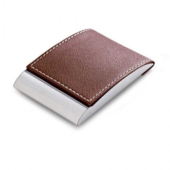 Porta cartões. Metal e c. sintético - 93308-121