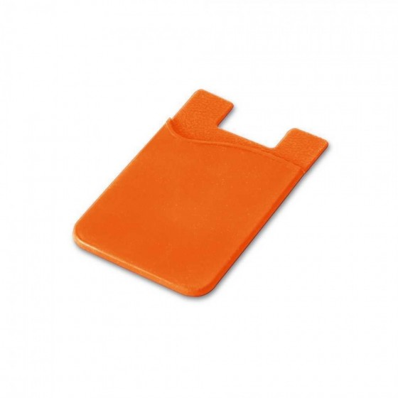 Porta cartões para celular. Silicone com autocola - 93320-128