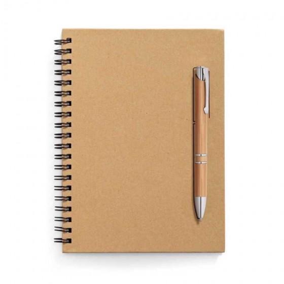 Caderno capa dura. Papel kraft com 70 folhas não pautadas - 93419-160
