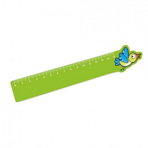 Régua de 15 cm. PP flexível - 93571-119