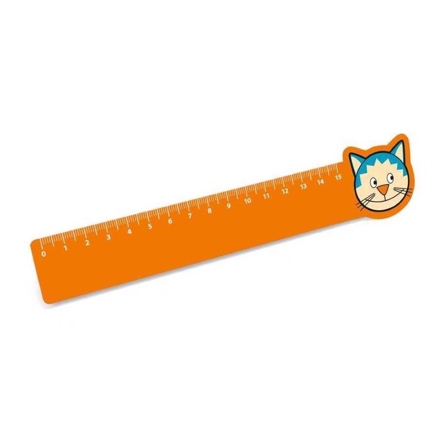 Régua de 15 cm. PP flexível - 93571.10