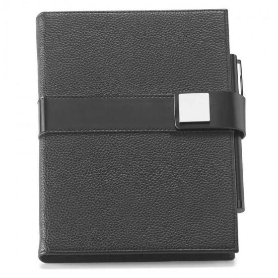 Caderno capa dura com folhas pautadas e não pautadas - 93598-103