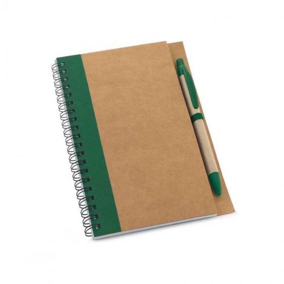 Caderno. Papel kraft. Capa dura - 93715-109