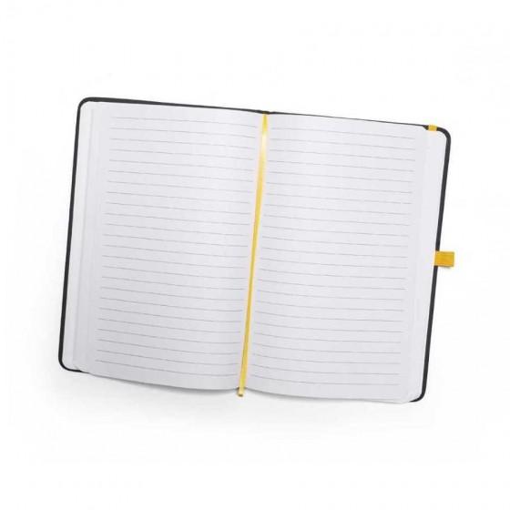 Caderno C. sintético. Capa dura com 80 folhas pautadas - 93717-108