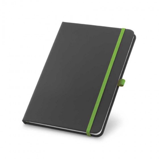 Caderno C. sintético. Capa dura com 80 folhas pautadas - 93717-119