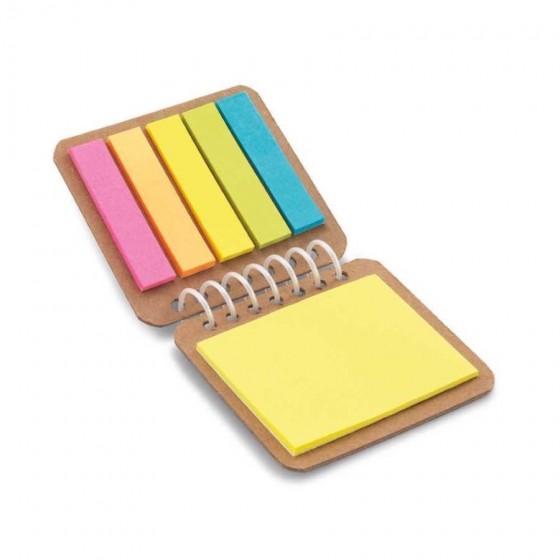 Caderno. Papel kraft. 6 blocos  - 93718-150