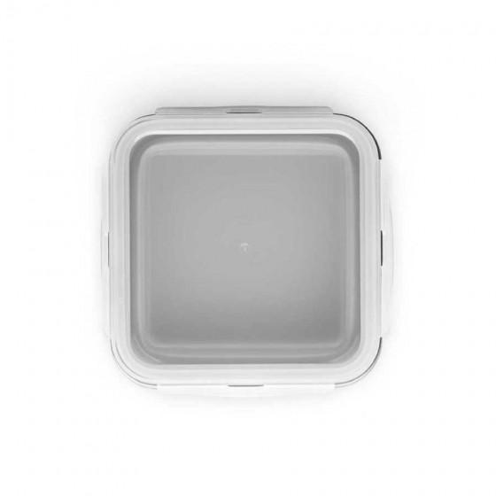 Marmita retrátil em Silicone e PP com 1 compartimento - 93846-123
