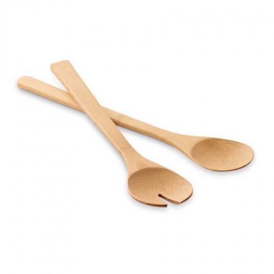 Conjunto de 2 talheres para salada em Bambu - 93969-160