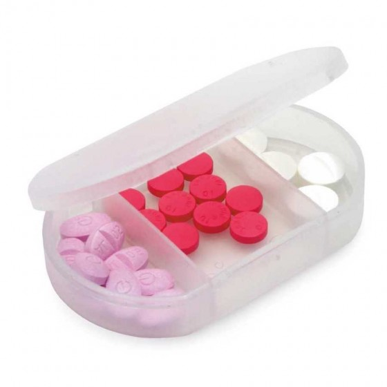 Porta comprimidos. Com 3 divisórias - 94301-106