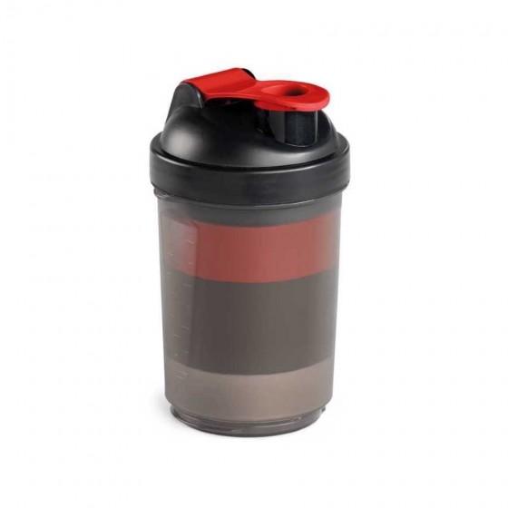 Shaker. PP e PE. Com 2 compartimentos - 94645.05
