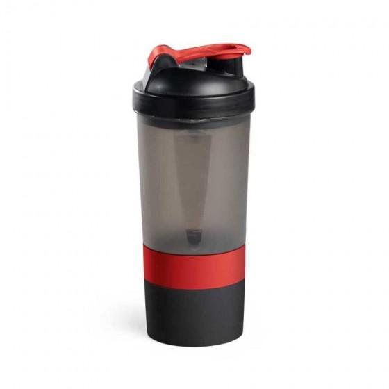 Coqueteleira Shaker PP e PE. Com 2 compartimentos - 94645-105
