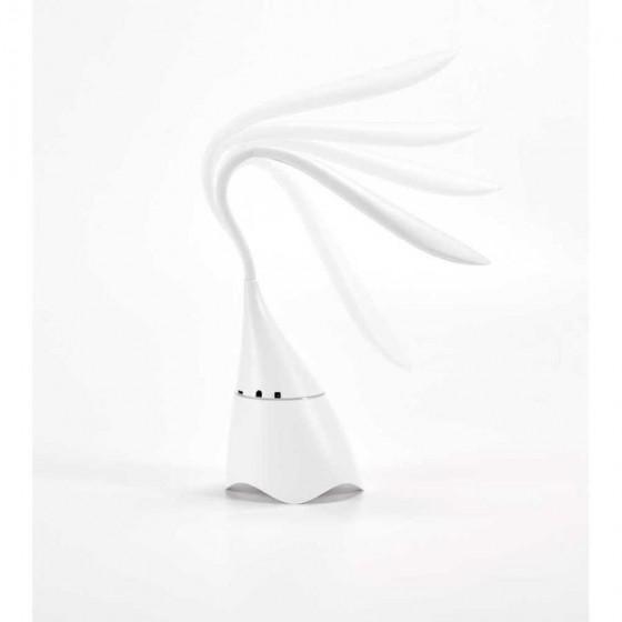Luminária de mesa com caixa de som em ABS com 18 LEDs - 94744-106