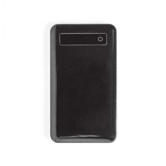 Bateria portátil em ABS e aço inox. Capacidade: 4000 mAh - 97077-103
