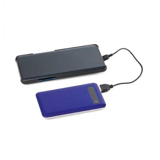 Bateria portátil em ABS e aço inox. Capacidade: 4000 mAh - 97077-104
