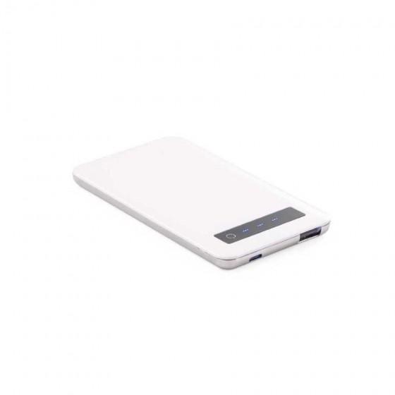Bateria portátil em ABS e aço inox. Capacidade: 4000 mAh - 97077-106