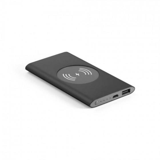 Bateria portátil e carregador wireless. Capacidade: 4000 mAh - 97078-103