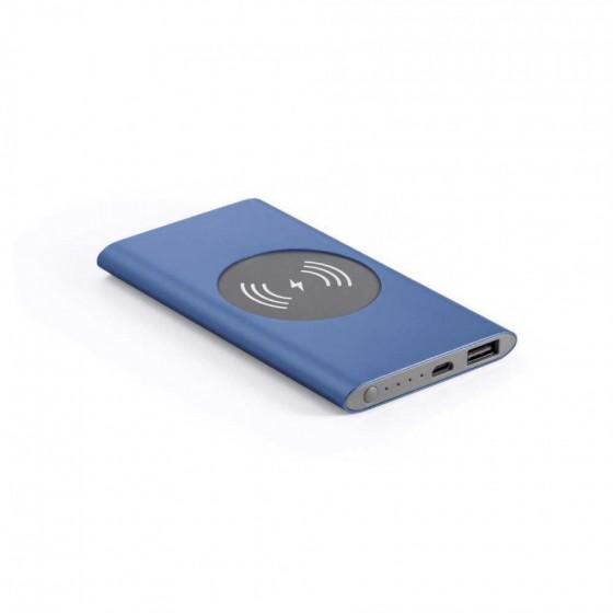 Bateria portátil e carregador wireless. Capacidade: 4000 mAh - 97078-104